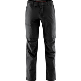 Maier Sports Tajo Pantalones Zip-Off Hombre, black